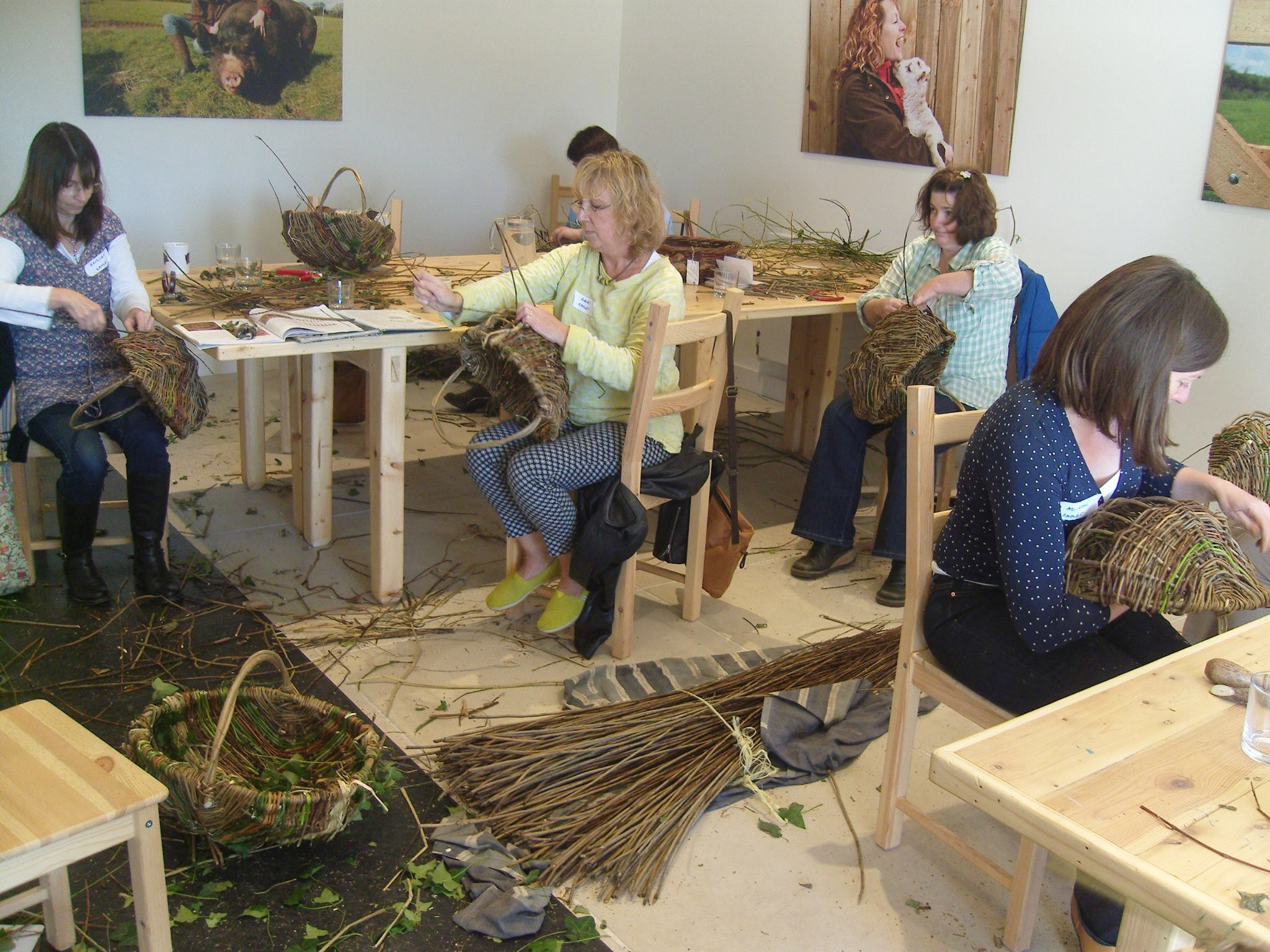 Wicker weaving workshop course