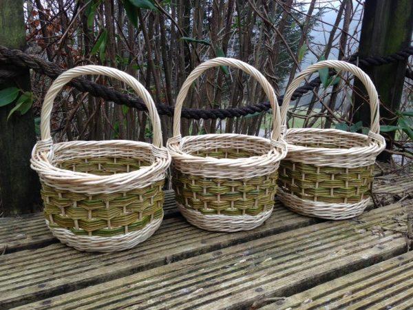 Wicker Shopping Basket