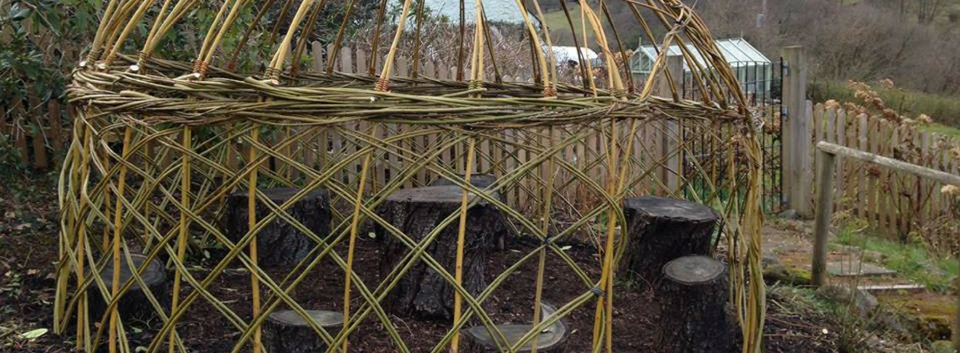 Wyldwood Willow Living Willow Dome