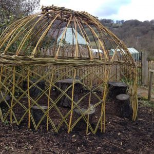 Wicker Dome Shelter