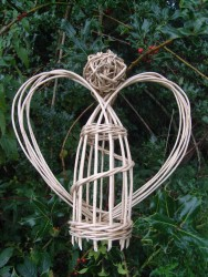 wicker angel