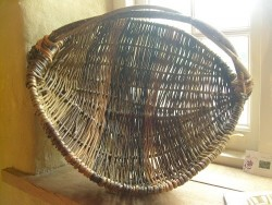 Wicker Frame Basket