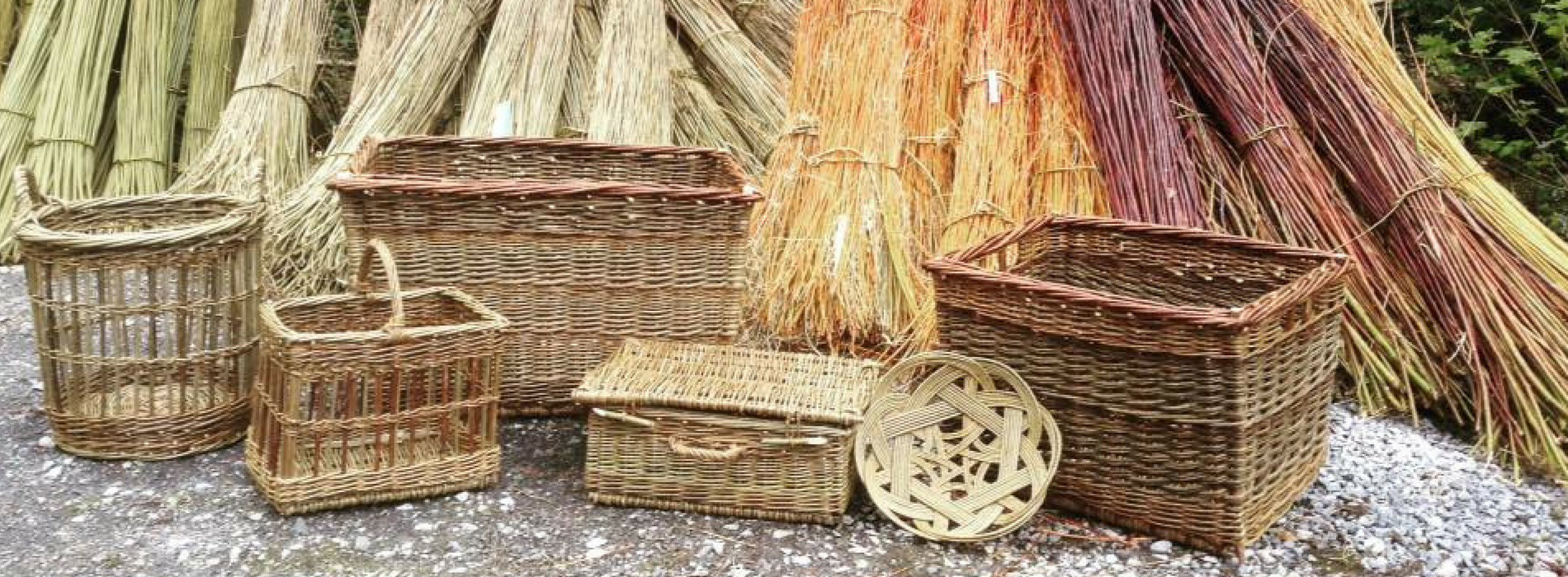 Wyldwood Willow Baskets Wicker