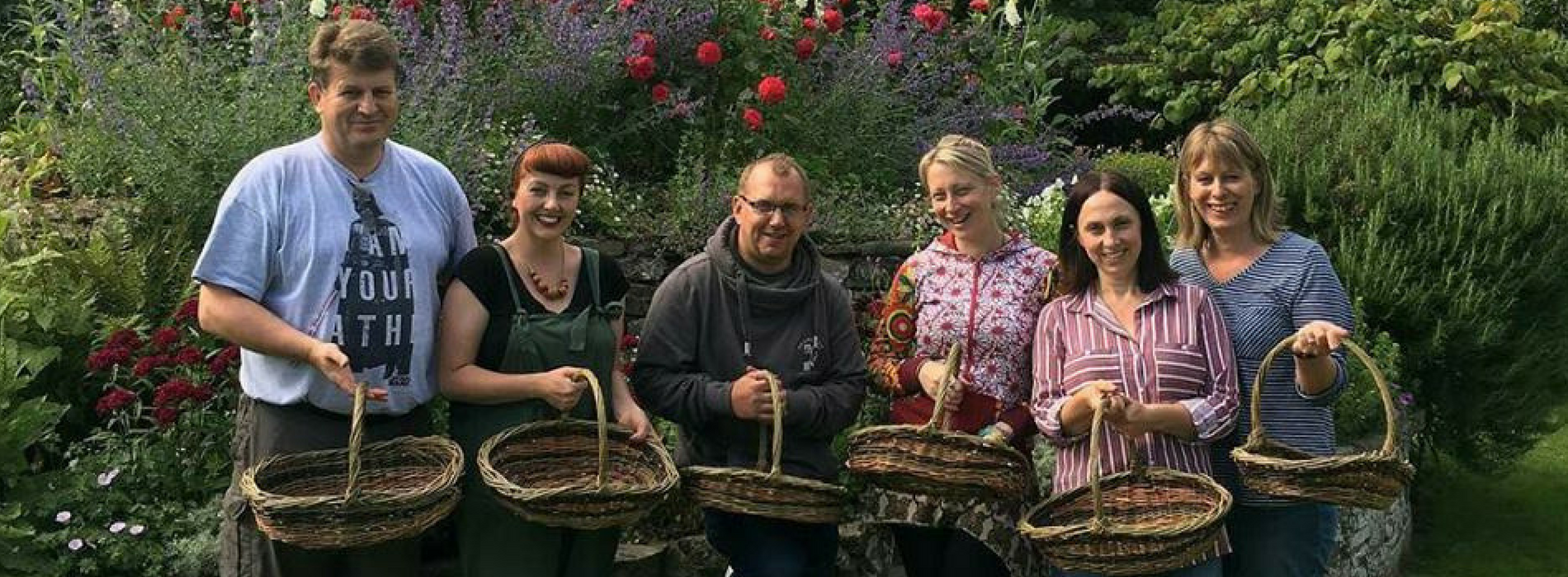 Wyldwood Willow Wicker Basket Making course