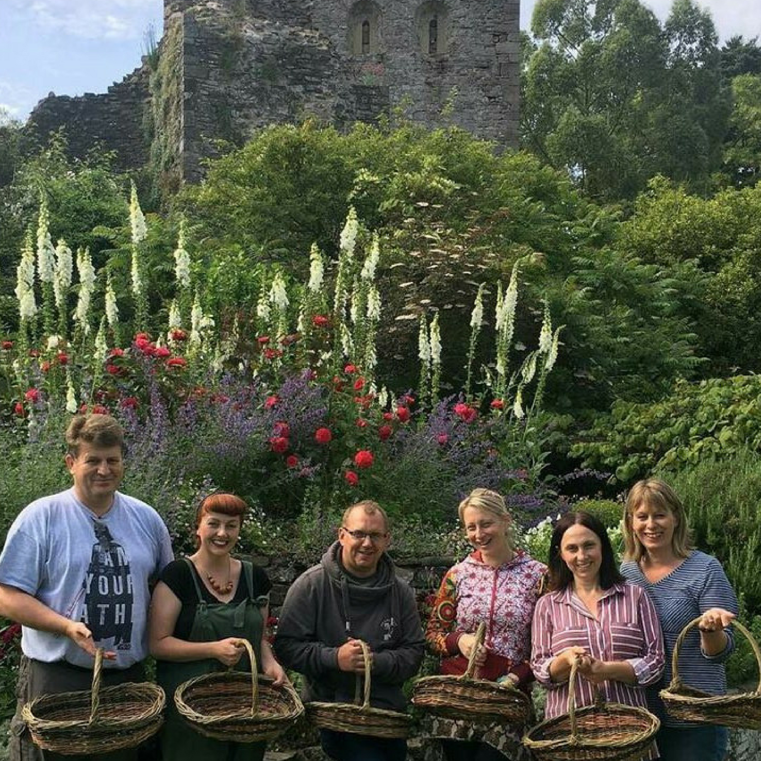 Willow Weaving Workshop Usk Castle