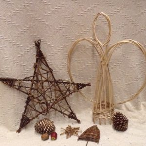 Willow Christmas Decorations